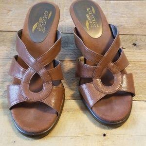 """Summer 2"""" heeled sandals"""